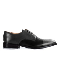 Gray and Black Premium Toecap Derby main shoe image