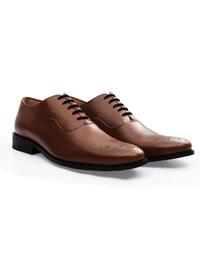 Coffee Brown Premium Eyelet Wholecut Oxford alternate shoe image