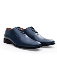 Dark Blue Premium Eyelet Wholecut Oxford alternate shoe image