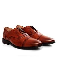 Lighttan Premium Half Brogue Oxford alternate shoe image