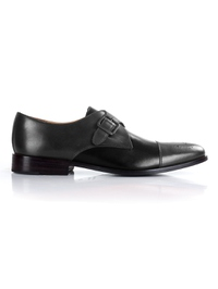 same color Single Strap Toecap Monk shoe image