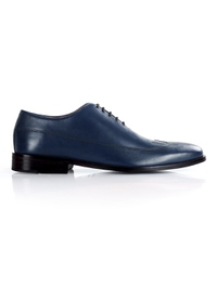 Dark Blue Premium Wingtip Oxford main shoe image