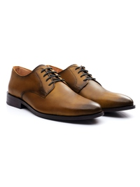 Yellow Premium Plain Derby alternate shoe image