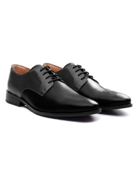 Gray and Black Premium Plain Derby alternate shoe image