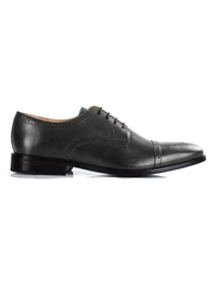 Gray Premium Half Brogue Derby main shoe image