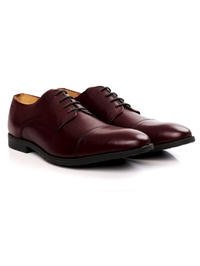 Burgundy Toecap Derby alternate shoe image