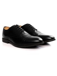 Black Quarter Brogue Oxford alternate shoe image