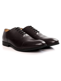 Brown Toecap Oxford alternate shoe image