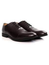 Brown Toecap Oxford alternate shoe image