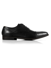 Black and Gray Toecap Derby main shoe image
