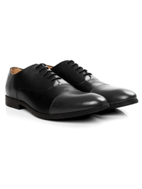 Black and Gray Toecap Oxford alternate shoe image