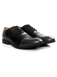 Black and Gray Toecap Oxford alternate shoe image