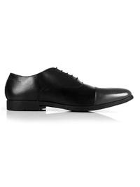 Black and Gray Toecap Oxford main shoe image