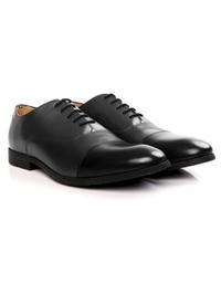 Gray and Black Toecap Oxford alternate shoe image