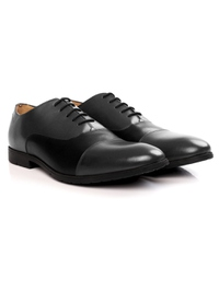 Gray and Black Toecap Oxford alternate shoe image