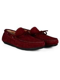 Red Boat Moccasins Leather Shoes alternate shoe image