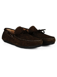 Brown Boat Moccasins alternate shoe image