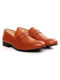 Tan Premium Apron Halfstrap Slipon alternate shoe image