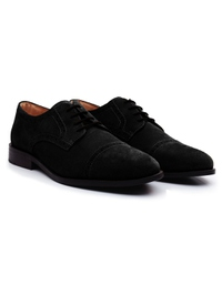 Black Premium Half Brogue Derby alternate shoe image