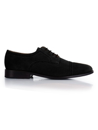 Black Premium Half Brogue Derby main shoe image