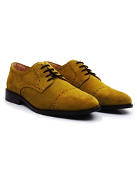 Mustard Premium Half Brogue Derby alternate shoe image