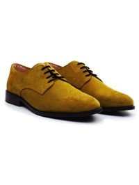 Mustard Premium Plain Derby alternate shoe image