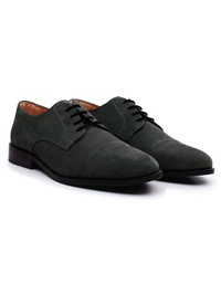 Gray Premium Toecap Derby alternate shoe image