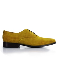 Mustard Premium Plain Oxford main shoe image