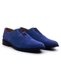 Navy Premium Plain Oxford alternate shoe image