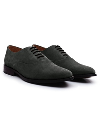 Gray Premium Plain Oxford alternate shoe image