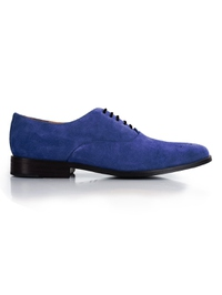 Navy Premium Plain Oxford main shoe image