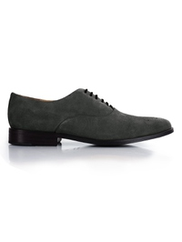 Gray Premium Plain Oxford main shoe image