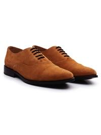 Beige Premium Toecap Oxford alternate shoe image