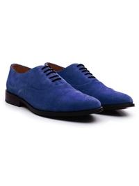 Navy Premium Toecap Oxford alternate shoe image