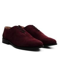 Burgundy Premium Wholecut Oxford alternate shoe image