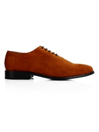 Tan Premium Wholecut Oxford main shoe image