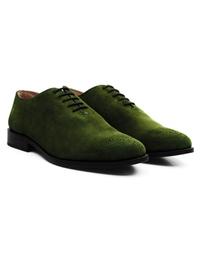 Dark Green Premium Wholecut Oxford alternate shoe image