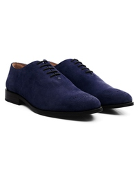 Dark Blue Premium Wholecut Oxford alternate shoe image