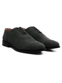 Gray Premium Wholecut Oxford alternate shoe image