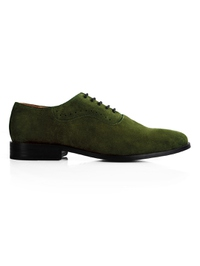 Dark Green Premium Eyelet Wholecut Oxford main shoe image
