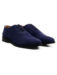 Dark Blue Premium Eyelet Wholecut Oxford alternate shoe image