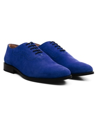 Navy Premium Eyelet Wholecut Oxford alternate shoe image