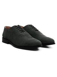 Gray Premium Eyelet Wholecut Oxford alternate shoe image