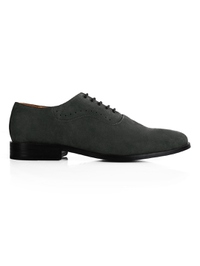 Gray Premium Eyelet Wholecut Oxford main shoe image