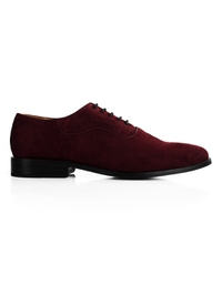 Burgundy Premium Eyelet Wholecut Oxford main shoe image