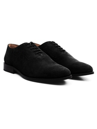 Black Premium Eyelet Wholecut Oxford alternate shoe image