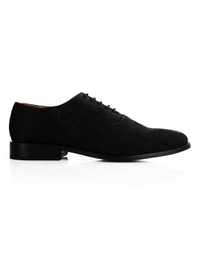Black Premium Eyelet Wholecut Oxford main shoe image