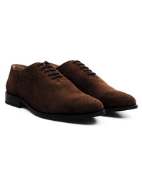 Brown Premium Eyelet Wholecut Oxford alternate shoe image
