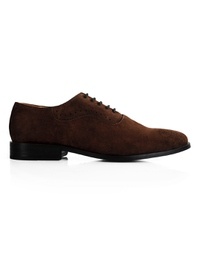 Brown Premium Eyelet Wholecut Oxford main shoe image