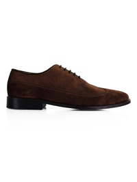 Brown Premium Wingtip Oxford main shoe image
